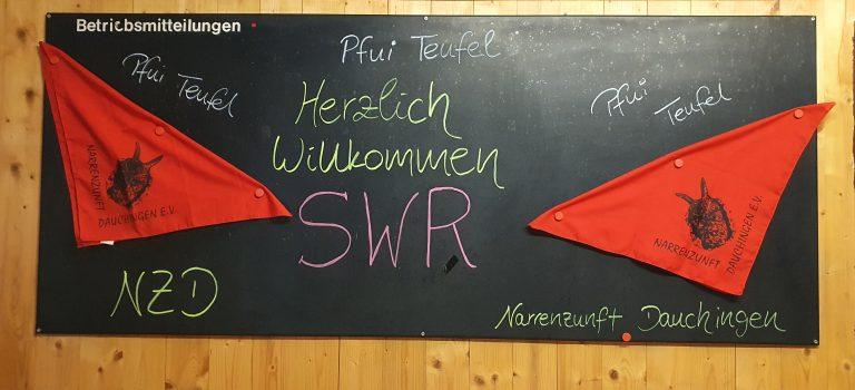 SWR Aufnahmen bei fuchsschwanzFM